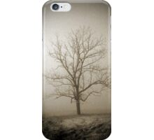 Smoky Mountains Scene-011287 iPhone Case/Skin
