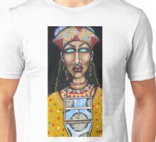 La Diosa de Predicciones, Tiempo y Clima (The Goddess of Predictions, Time and Weather) Unisex T-Shirt