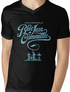 blue jean committee Mens V-Neck T-Shirt