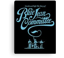 blue jean committee Canvas Print