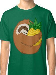 Pineapple Sloth Classic T-Shirt