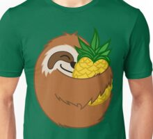 Pineapple Sloth Unisex T-Shirt