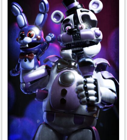 Funtime freddy Poster and more! fnaf sister location Sticker