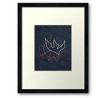 Holy Spirit symbol illustration Framed Print