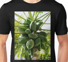 Papaya Tree (aka Pawpaw) with Green Fruit Unisex T-Shirt