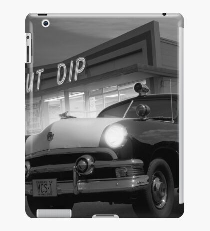 Cops Shoot Unarmed Donut iPad Case/Skin