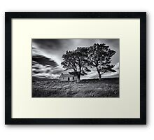 Old Croft House at Lettermore Framed Print