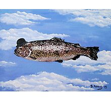 Fish with Bowler Photographic Print