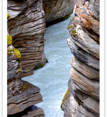 Athabasca Falls Sticker