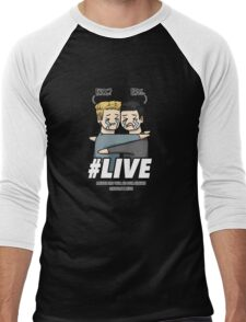 #live - AOS Men's Baseball ¾ T-Shirt