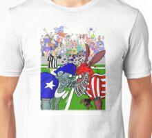 Politics as American Blood Sport Unisex T-Shirt
