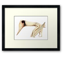 "Lacusovagus, the ""lake wanderer"" Framed Print"