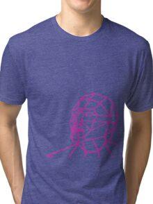 Facial Geometry Tri-blend T-Shirt