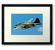 P-63A Kingcobra with B-17G Fortress II Framed Print