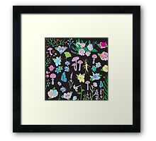 Garden Witch Framed Print