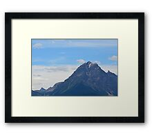 Alberta Mountains Framed Print