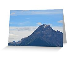 Alberta Mountains Greeting Card