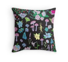 Garden Witch Throw Pillow