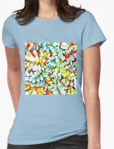 Tropical Foliage Womens Fitted T-Shirt
