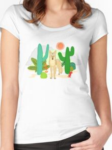 Coyote Women's Fitted Scoop T-Shirt