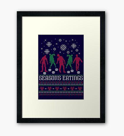 Season's Eatings Framed Print