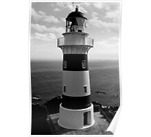 Cape Palliser Lighthouse, New Zealand Poster