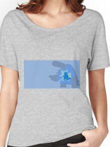 POKÉMON minimals #007-009 SQUIRTLE/WARTORTLE/BLASTOISE/MEGA Women's Relaxed Fit T-Shirt