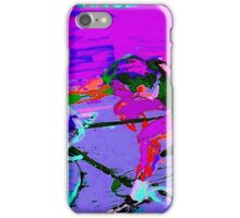 TOUR DE FRANCE; Abstract Bike Racing Print iPhone Case/Skin