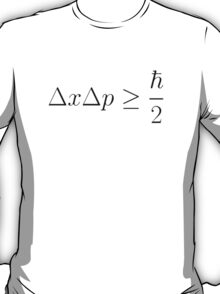 Uncertainty Principle T-Shirt