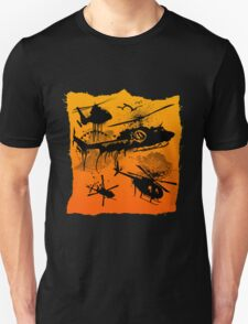 Black Helicopters Unisex T-Shirt