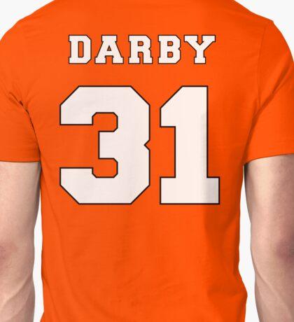 Darby the Shark (Back) Unisex T-Shirt