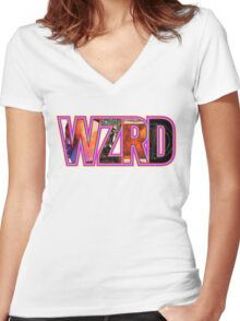Kid Cudi Collection  Women's Fitted V-Neck T-Shirt