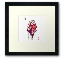 Two heart Framed Print
