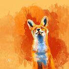 Happy Fox by floartstudio
