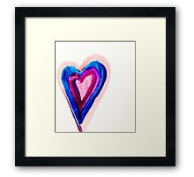 Cold hearted  Framed Print