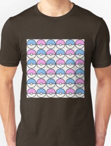 Kawaii Pokeball Pattern Unisex T-Shirt