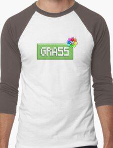 Grass Type - PKMN Men's Baseball ¾ T-Shirt