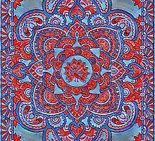 Persian Peacock by redqueenself