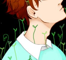 veins of weeds and stardust -- oikawa Sticker