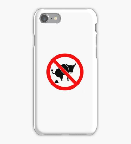 NO BS iPhone Case/Skin