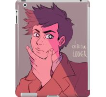 what a looker iPad Case/Skin