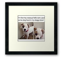 A master peace of our time Framed Print