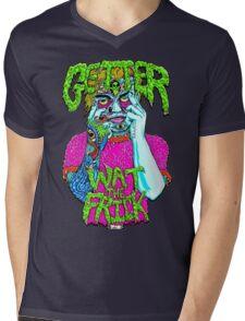 Getter- Wat the Frick  Mens V-Neck T-Shirt