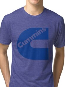 Cummins Blue Tri-blend T-Shirt