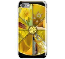 Yellow Colour Wheel iPhone Case/Skin