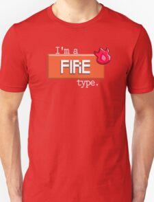 Fire Type - PKMN Unisex T-Shirt