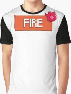 Fire Type - PKMN Graphic T-Shirt
