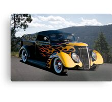 1937 Ford 'Fifties Style' Pickup  Metal Print