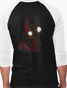 FoxDoll Chibi Men's Baseball ¾ T-Shirt