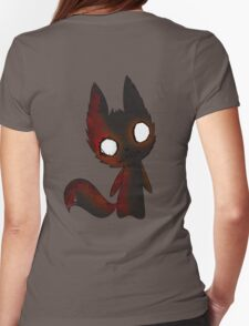 FoxDoll Chibi Womens Fitted T-Shirt